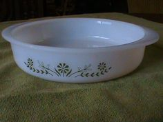 Vintage Glassbake Casserole Dish by RetroRevolutions on Etsy, $6.95