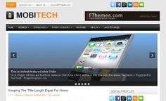 MobiTech Blogger Template Blogspot