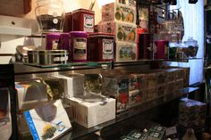 Gourmet Teas B & B, Teas, Liquor Cabinet, Strength, Antiques, Simple, Room, Home Decor, Gourmet