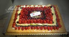 Crostata di frutta. www.pasticceriamaresca.it