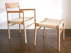 pourannick » nomad arm chair & nomad stool