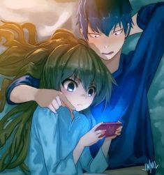 Ryuji and Taiga being cute
