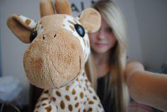 cute animal print giraffe stuffed animal