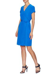 Crepe Wrap Dress by Ava & Aiden at Gilt