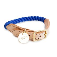 FOUND MY ANIMAL | Rope Collar in Periwinkle