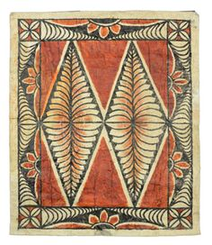 "tapa cloth from Tonga  Code: tonga13  550mm x 400mm  21.65"" x 15.75""    NZ$70"