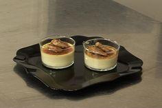Crème brûlée au foie gras et sauternes expliquée par nos chefs Creme Brulee Foie Gras, Cooking Chef, Christmas Chocolate, Food Plating, Mousse, Entrees, Panna Cotta, Bacon, Appetizers
