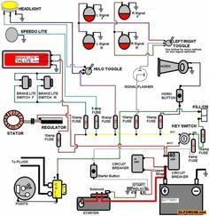 starter motor starting system starter motor diagram and starters rh pinterest com car sound system wiring viper car alarm wiring system