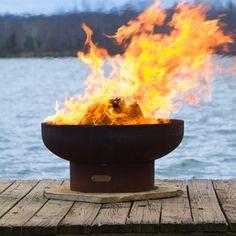 Lovely Fire Pit Art Low Boy Steel Fire