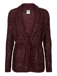 Cardigan from VERO MODA. The perfect wrap around for autumn. Wrap Cardigan, Beaded Top, Sequin Top, Pullover Sweaters, Cardigans, Knitwear, Cashmere, Style Inspiration, My Style