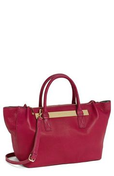 Vince Camuto 'Jace' Leather Satchel available at #Nordstrom