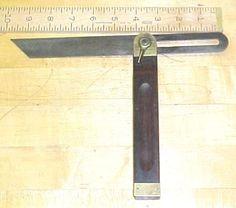 Stanley No. 25 T Bevel Gauge 1897 Patent 10 Inch