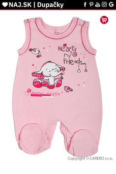 Dojčenské dupačky Bobas Fashion Benjamin ružové Onesies, Rompers, Baby, Kids, Clothes, Fashion, Young Children, Outfits, Moda