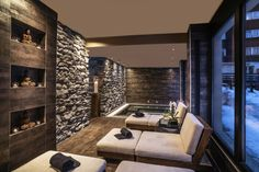 San Gil, Lounge, Unique Hotels, Wellness Spa, Restaurant, Home Spa, Luxury Homes, Garden Ideas, Composition