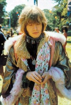 Brian Jones, a la Rolling Stones, at the Monterey Pop Festival, by Jim Marshall. Love the coat. The Rolling Stones, Mick Jagger, Monterey Pop Festival, Rock N Roll, Keith Richards, Rock Bands, Metal Bands, Jimi Hendricks, 70s Icons