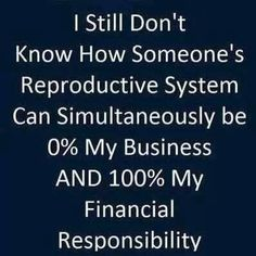 Your abortion is not my financial responsibility