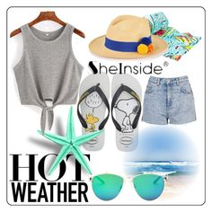 """""""Bez naslova #903"""" by ajsajunuzovic ❤ liked on Polyvore featuring Havaianas, Lilly Pulitzer, Topshop and Prymal"""