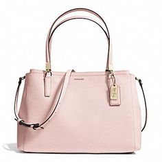 MADISON CHRISTIE CARRYALL IN SAFFIANO LEATHER