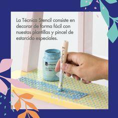 Aquí os traemos el primer paso a paso: 🛋️ ¿Tenéis algún mueble que os estéis cansando de ver durante estos días? ¡Pues a cambiarlo se ha dicho! 🖌️ Con Chalk Paint y una plantilla Stencil podéis darle nuevos detalles o pintarlo por completo y conseguir un diseño totalmente nuevo y que os ayude a encajarlo mejor en vuestro hogar.  #covid19 #pintarescrear #pinturaslapajarita #pintura #manualidades #DIY #DECO #chalk #chalkpaint #plantilla #mueble Diy, Stencil, Template, Little Birds, Step By Step, Plants, Bricolage, Diys, Handyman Projects