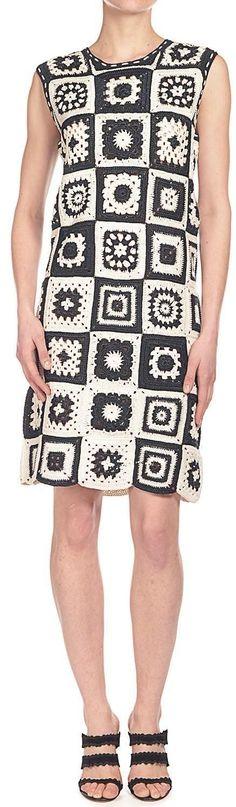 49 Ideas crochet granny square skirt inspiration for 2019 Crochet Toddler Dress, Crochet Summer Dresses, Summer Dress Patterns, Crochet Lace Dress, Crochet Jacket, Crochet Poncho, Crochet Clothes, Crochet Granny, Crochet Baby
