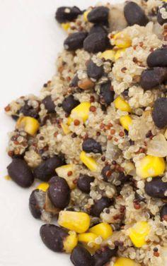 Quinoa, Corn & Black Bean Salad
