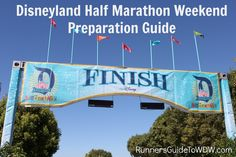 Tips to help you prepare for the runDisney Disneyland Half Marathon Weekend!