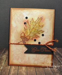 Stamp Simply - Give Thanks Copper 500602