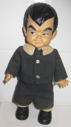 Eddie Munster Doll 1965 Ideal Toys Mini Monsters 21cm The Munsters | eBay $100 on 02/13/15