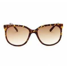 Sole Society - Oversized Sunglasses With Metal Detailss - Leena