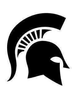 MSU Pumpkin Stencils: Spartan Helmet