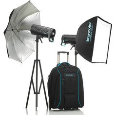 Broncolor Siros L 800Ws Battery-Powered 2-Light Outdoor Kit 2