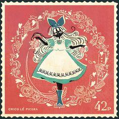 """fairytalemood: """"Alice"""" by chun"""