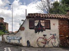 Street art everywhere  #streetart #streetartmilano #lovestreetart #angoloincantato #milano #milanodavedere #milanodascoprire #wheremilan #milano_in #igersmilano #ig_milano #milanoedintorni #loves_milano #loves_united_milano #vivomilano #volgomilano by freeturtle