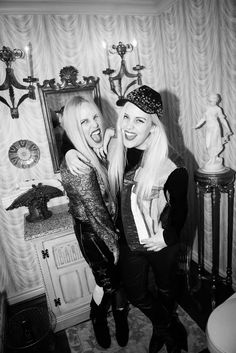 Caillianne and Samantha on The Coveteur!