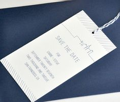 """Save the Date """"Chunky"""" Bookmarks"""