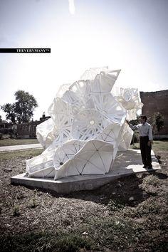 architecturemas:    Plasti(k) Pavilion - Marc Fornes & THEVERYMANY
