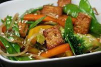Cantinho Vegetariano: Legumes com Tofu (vegana)