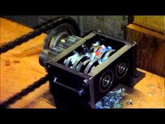 2 th test of mini shredder. - YouTube