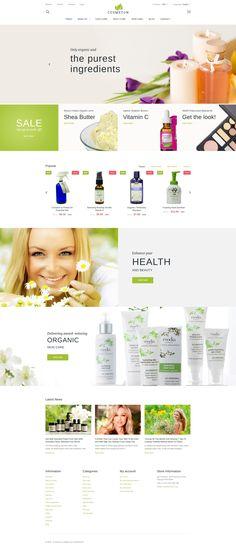 Cosmeton - Skin Care PrestaShop 1.6