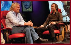 Meeting Richard Branson at TED - We are on our way to TED, a global platform for sharing 'ideas worth spreading'. Richard Branson is tonight's main guest and he will be talking to TED's curator Chris Anderson.    For us as entrepreneurs, Richard has long been a source of inspiration – we are particularly interested in his vision for saving the planet. He believes in making a difference and is always looking for the next big thing. I wonder what the next big thing is going to be tonight.