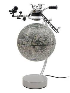 "Stellanova The Moon 6"" Levitating & Rotating Globe 6889-5994"