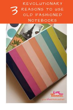Use Old Fashioned Notebooks, 3 ring binders to improve retention and get organized. 3 Reasons why you should use notebooks Positive Living, Ring Binder, Revolutionaries, Getting Organized, Personal Development, Life Lessons, Positivity, Notebooks, Organization