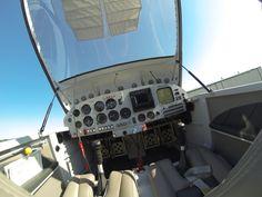 cockpit of an RV7
