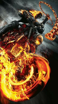 Ghost Rider - Spirito di Vendetta (Blu-Ray + Blu-Ray Rider - Spirit Of Vengeance;Ghost rider: Spirit of vengeance Marvel Comics, Marvel Heroes, Ultron Marvel, Marvel Gif, Captain Marvel, Nicolas Cage, Comic Books Art, Comic Art, Ghost Rider Wallpaper