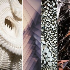 The sublime and sculptural texture of Dutch Fashion Designer and ANDAM Award Winner Iris Van Herpen