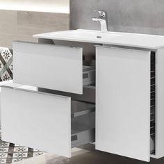 #look #elita #białe #meble #łazienkowe @elitameble #salonhoff Vanity, Cabinet, Bathroom, Storage, Furniture, Home Decor, Dressing Tables, Clothes Stand, Washroom