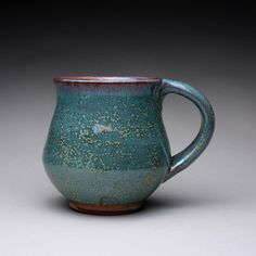 handmade pottery mug teacup ceramic cup with by rmoralespottery, $27.00