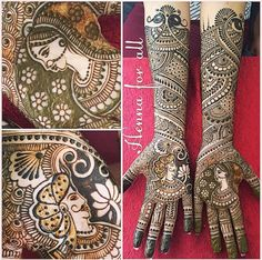 Pick Your Latest Beautiful Bridal Mehndi Designs That Looks Stunning! Henna Hand Designs, Wedding Henna Designs, Latest Bridal Mehndi Designs, Unique Mehndi Designs, Tattoo Designs, Hena Designs, Tattoo Ideas, Dulhan Mehndi Designs, Mehndi Design Pictures