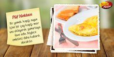 omletlerin kabarması icinpüf noktası