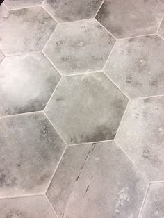 Sick of squares and rectangles? Go with a #Hex! Arizona Tile Varese Series. #hexagontile https://arizonatile.com/en/products/porcelain-and-ceramic/varese
